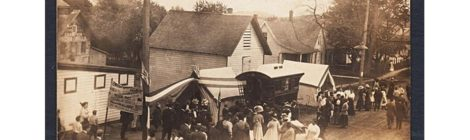 1910 Gypsy Camp in Sodus