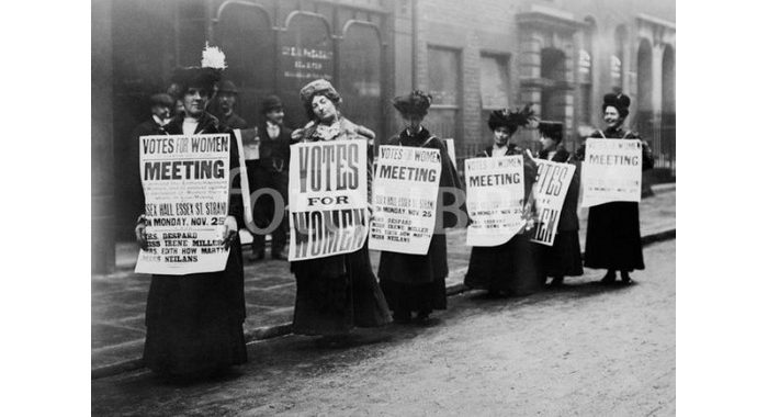 Woman's Suffrage Comes to Alton (1910)