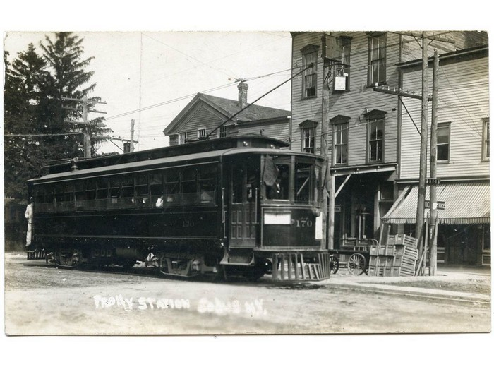 Trolley (1900 - 1929) - Page | Town of Sodus Historical Society